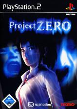 Jaquette PS2 de Project Zero
